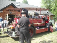 The Paper Trail Fire Engine 2011.JPG